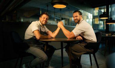 Lorenzo Cogo e Mikael Svensson