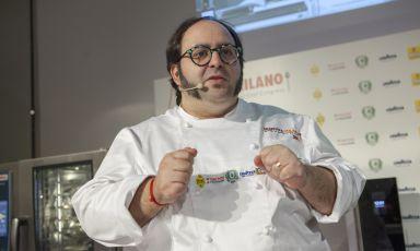 Gonzalo Luzarraga, chef atRigòin London (all photos fromBrambilla-Serrani)