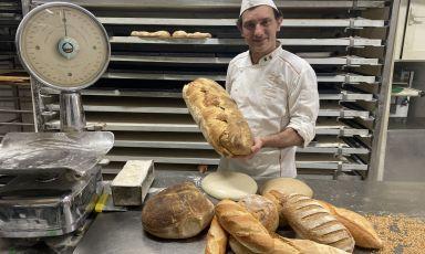 La bontà del pane di Rodolfo Molettieri a Napoli, tra ricerca e voglia di raccontarsi
