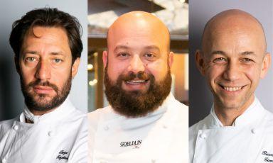 Luigi Taglienti, Domingo Schingaro, Riccardo Caman