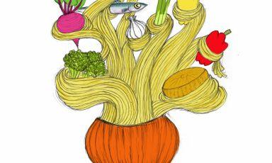 Gianluca Biscalchin illustra il Cipollone al forno