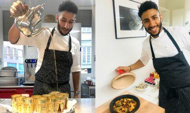 Storia di Nabil Bakouss, che insegna al Joia la cucina magrebina