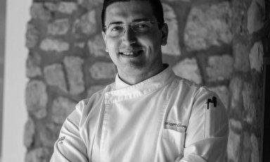 Alberto Francesco Wengert, sous-chef dellaLocanda del Borgodi Telese Terme (Benevento)