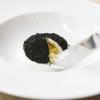 L'Uovo affumicato presentato da Carlo Cracco al pranzo di Chicago