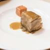 Spalla fondente d'agnello, cipolla, mozzarella affumicata e pane al pomodoro, il secondo di Chicago di Giancarlo Perbellini