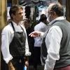 Paolo Marchi e Matthew Kenney al pronti-via della cena Dine Around da Eataly Flatiron