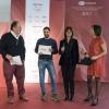 Claudio Catino premiato comemiglior sous-chefda Elena Bacchini (Divine Creazioni Surgital)