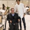 Alberto Fontana,presidente della Fondazione Serena/Nemo e lo chef Davide Oldani