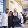 Con Carlo Cracco e Michael Tusk, Chiara Zucchetti di Lavazza