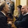 Chiacchiere tra Moreno Cedroni e Pietro Zito