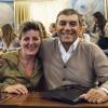 Viviana Varese con Claudio Ceroni, patron di MagentaBureau