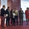 GliAbbruzzino premiati comefamigliadell'anno da Paola Valeria Jovinelli (Arte del Convivio)