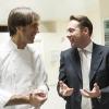 Oldani con Renato Pocaterra, segretario generale di Fondazione Serena/Nemo