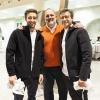 Paolo Marchi tra i Besuschio: papà Andrea e figlio Giacomo