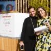 Cinzia Benzi di Magenta Bureau e la presentatrice Lisa Casali