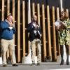 Il miglior maître: Jgor Tessari, Stube Gourmet dell'Hotel Europa, Asiago (Vi), premiato da Paolo Marchi in rappresentanza di Alfredo Zini, presidente Ente Bilaterale Nazionale Turismo