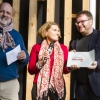 Il miglior chef straniero: Isaac McHale, The Clove Club, Londra, premiato da Sara Peirone, manager top gastronomy Lavazza