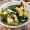 Zuppa di alghe e merluzzo