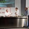 Heinz Beck con Tom Parker Bowles e Paolo Marchi