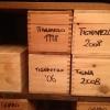 1.600 le etichette in carta alla Francescana, con un'esauriente profondità di annate