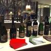 I vini in abbinamento per tutta la cena: sugli scudi, i calici del gruppo Santa Margherita e Cantine Ferrari