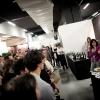 Davide Scabinal festival con le sue Combal Space Lasagne