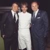 Matteo Renzi, Davide Oldani e Giancarlo Lunelli un paio di giorni fa, a Rio