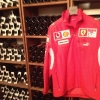 The Ferrari coat, hanging in the cellar: Maranello is only 17 km away from Modena