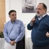 I giornalisti Vince Gerasoli e Paolo Marchi, presentatori