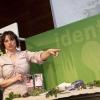 Identità di libertà 2010 - Giusi Foschia, coltivatrice di fiori e erbe incontaminate commestibili a Tarcento (Udine)