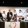 Da sinistra: Paolo Marchi, Gianluca Gorini, Helmuth Köcher, Niccolò Rizzi, Christian Milone, Giuseppe Iannotti