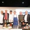 Da sinistra: Massimo Bottura, Helmuth Köcher, Antonio Borruso, Giorgio e Gian Pietro Damini, Paolo Marchi