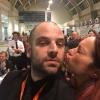 Gironi scherza conDesireé Nardone di Food Genius Academy: lo staff di sala è stato coordinato da loro
