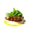 Piccione, raguse in porchetta, salsa di sedano rapa e misticanza aromaticadiMoreno Cedroni(foto Tanio Liotta). Cedroni sarà relatore a Identità Milano