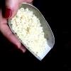 La mastika, resina estratta dalla pianta del lentisco che viene coltivata nell'isola egea di Chios. Carlo Cracco l'ha utilizzata per i suoi Rigatoni alla resina di mastica