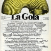 The first issue of La Gola, in October 1982