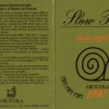 The first Slow Food membership card, in 1990