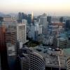 """Panoramica dal 32mo piano del Lotte Hotel di Seul. La capitale della Corea del Sud (che i locali pronunciano """"sol""""), con 10 milioni di abitanti (25 considerando tutta la proncia di Gyeonggi)è tra le città più popolose al mondo"""