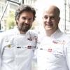 Carlo Cracco, ristorante Cracco a Milano e Jonathan Benno, ristorante Lincoln a New York