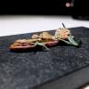 La nostra cena alla Stube Gourmet, nelle foto di Tanio Liotta. S'inizia con Petto d'anatra, mostarda di zucca, cialda di sesamo e dragoncello