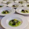 I piatti della cena da Baffo: Giardino d'acqua di Heinz Beck
