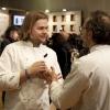 Identit� Golose � un punto di ritrovo degli chef pi� importanti della cucina d'autore italiana e internazionale: qui lo svedese Magnus Nilsson e il modenese Massimo Bottura