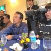 Media scatenati con gli ospiti italiani al ristorante La Riviere….