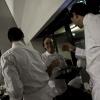 I Cavalieri della Cucina Italiana si preparano a salire sul palco della Sala Auditorium a Identità Golose 2011