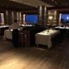 Ultimi ritocchi al ristorantea La Corte del Lampone del Rosapetra Resort di Cortina, chefAlessandro Favrin