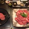 … e carne, da piastrare sul teppanyiaki, naturalmente