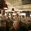 Alcuni degli chef protagonisti della cena di gala con i loro assitenti