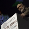 Carlo Petrini sul palco di Identit� Golose 2010