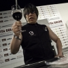 Lo chef cinese Alvin Leung sul palco di Identit� Golose 2010