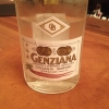 "Giovanni Boroni's Genziana from Trentino. A brilliant idea by Palmieri that acts as a bridge between the two dishes, Normandy (previous picture) and Think Green (next one). This distillate plays an immediate contrast with the sea-character of the first dish: ""To me, harmony is what is left after a confrontation"", B.P. says. And the confrontation is followed by the thought that spurs from the following match: water is added to the Genziana and the palate surprisingly longs to gulp it all. This is the perfect vehicle for the aromas of the genziana and ""gives length"" to the minerality of the wild herbs. ""This serves to recall water, our true source of richness"". Brilliant"